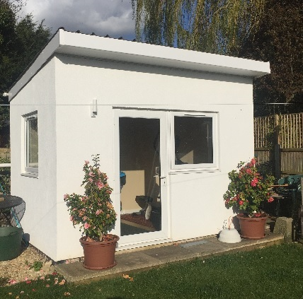 NEX GEN have just built another Garden Office in Cheltenham, Glos Gloucestershire.